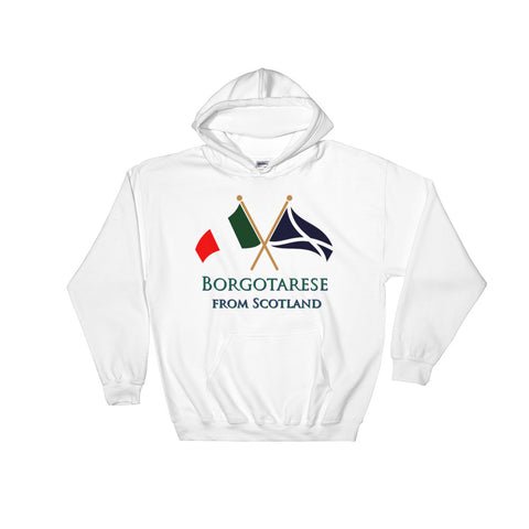 Borgotarese from Scotland Unisex Hooded Sweatshirt