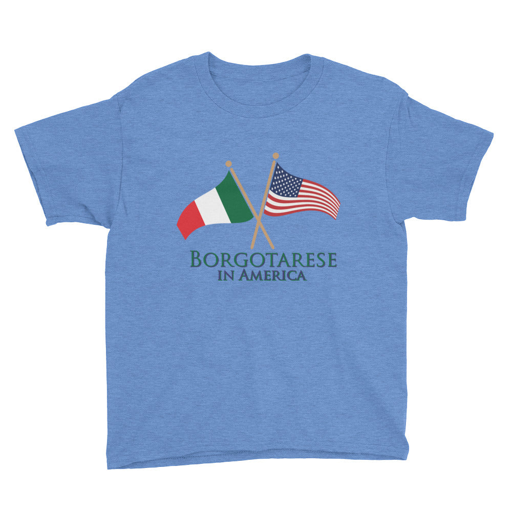 Borgotarese in America Youth Short Sleeve T-Shirt