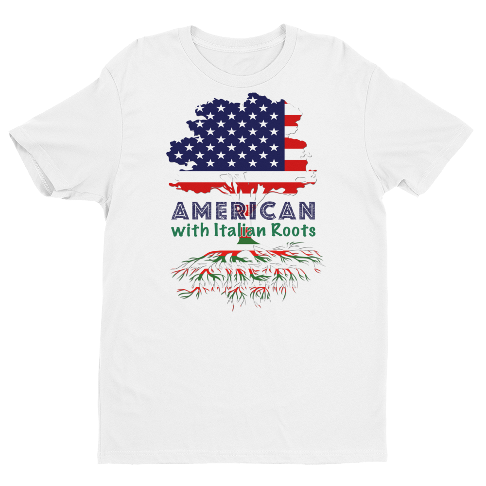 American with Italian Roots Style 1 Unisex Short Sleeve T-shirt