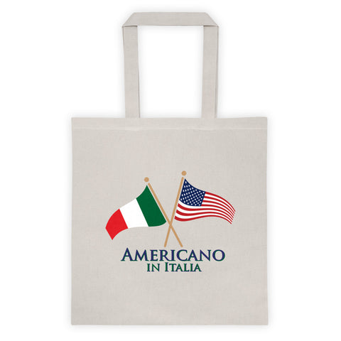 Americano in Italia Tote bag