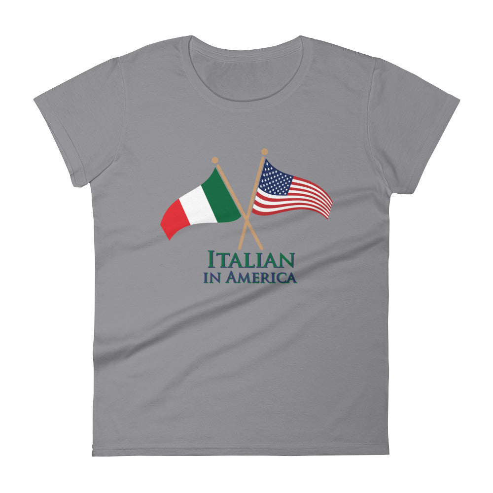 Italian in America Women's short sleeve t-shirt