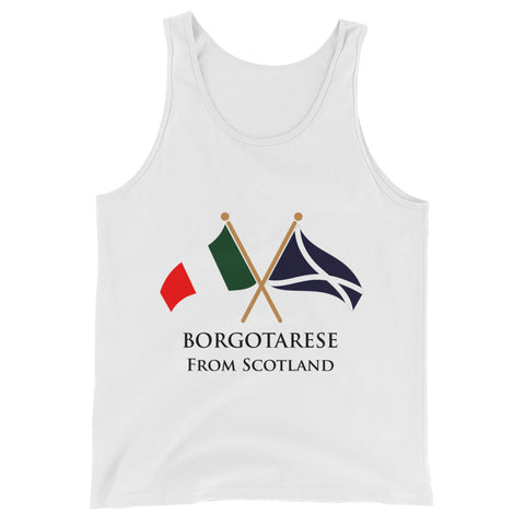 Borgotarese from Scotland Unisex  Tank Top