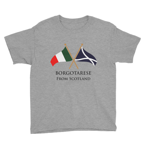 Borgotarese from Scotland Youth Short Sleeve T-Shirt