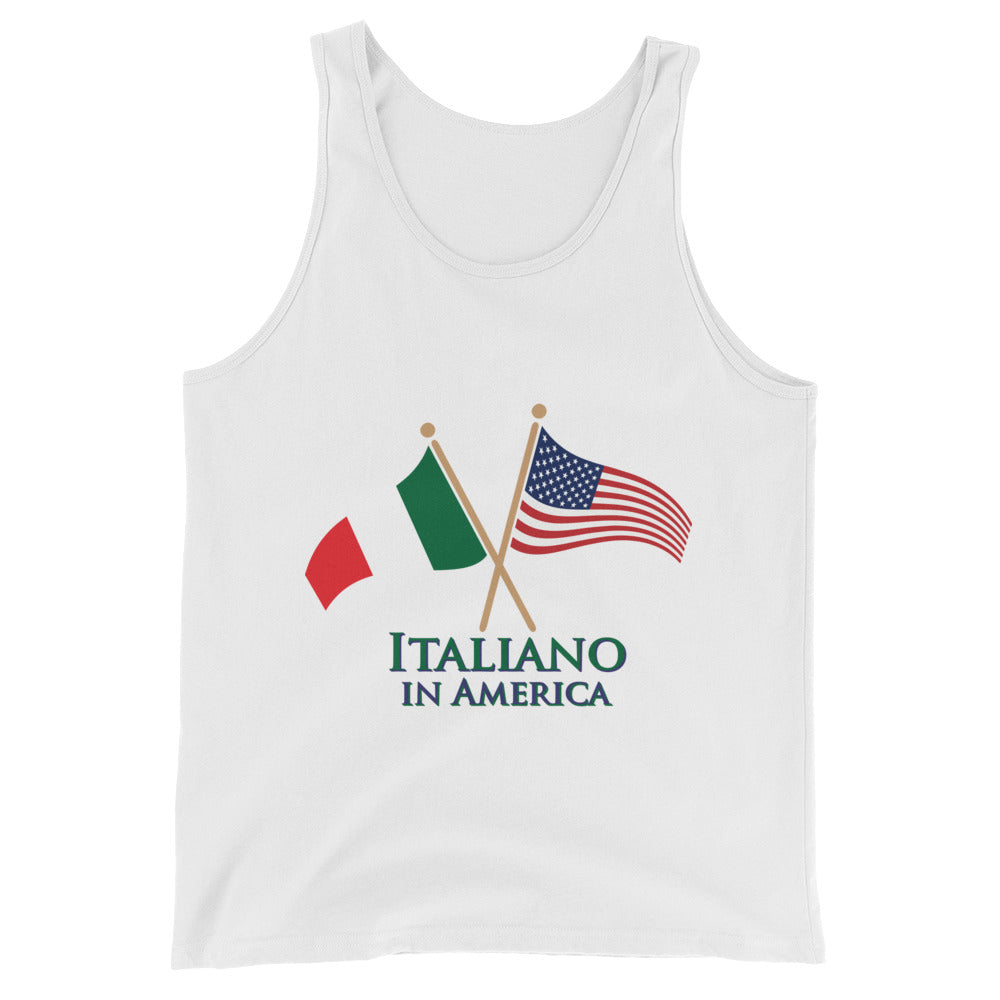 Italiano in America Men's  Tank Top