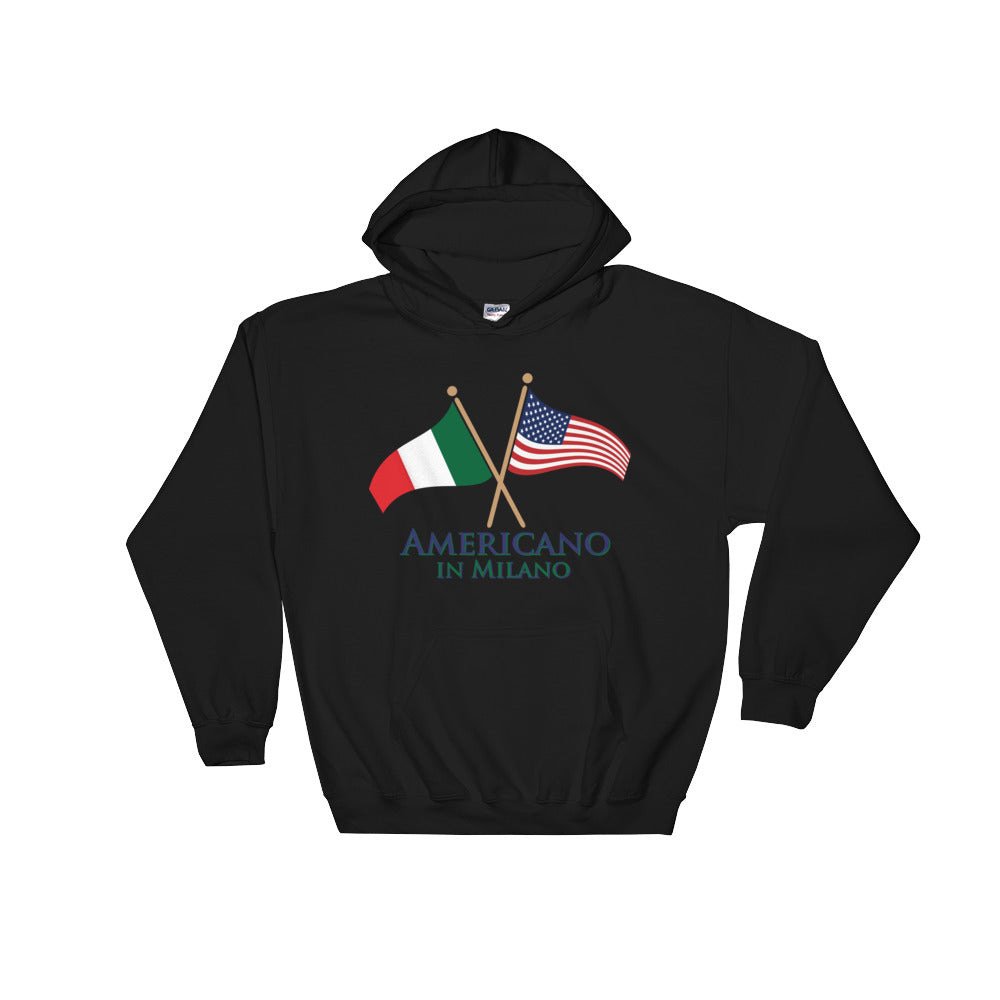 Americano in Milano Hooded Sweatshirt