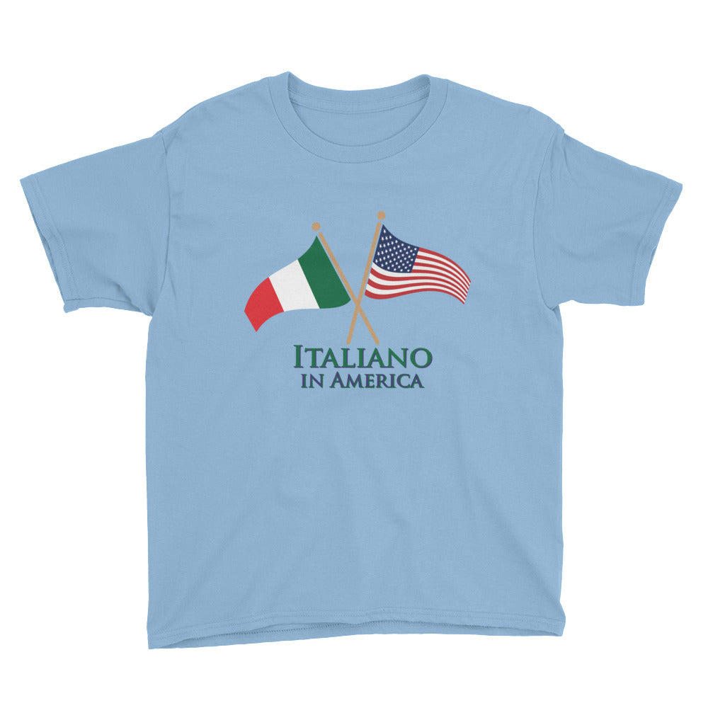 Italiano in American Youth Short Sleeve T-Shirt