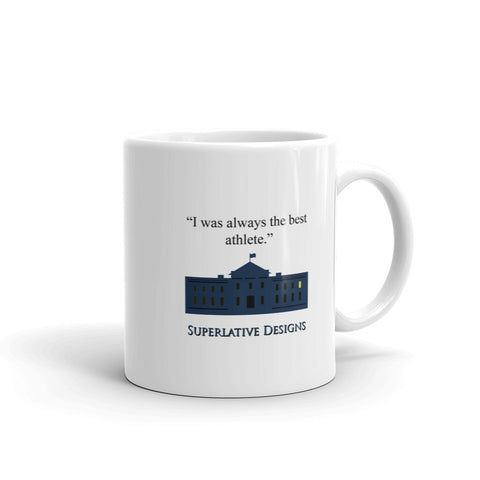 Best Athelete Superlative Designs Mug