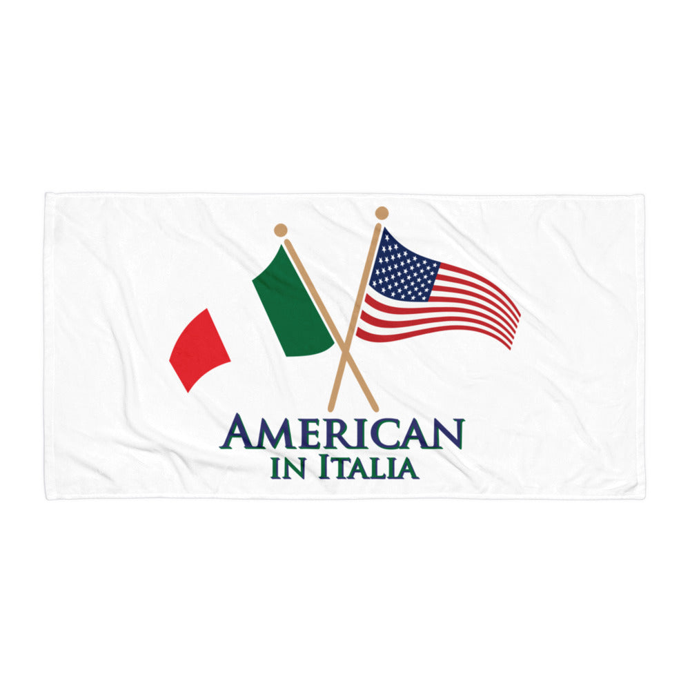 American in Italia Towel