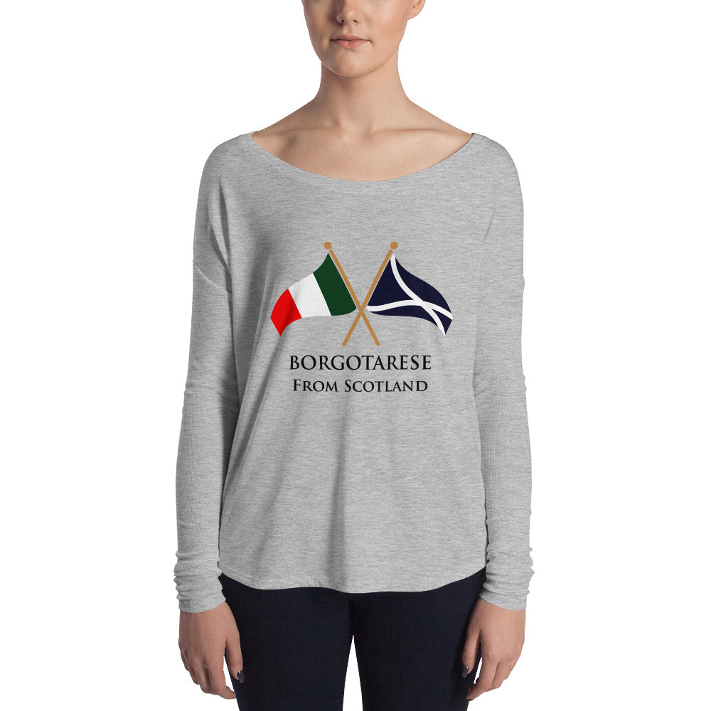 Borgotarese from Scotland Ladies' Long Sleeve T-Shirt