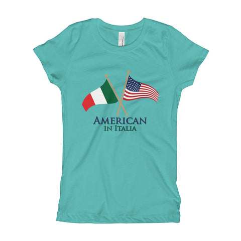 American in Italia Girl's Short Sleeve T-Shirt