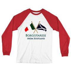 Borgotarese from Scotland Unisex Long Sleeve Baseball T-Shirt