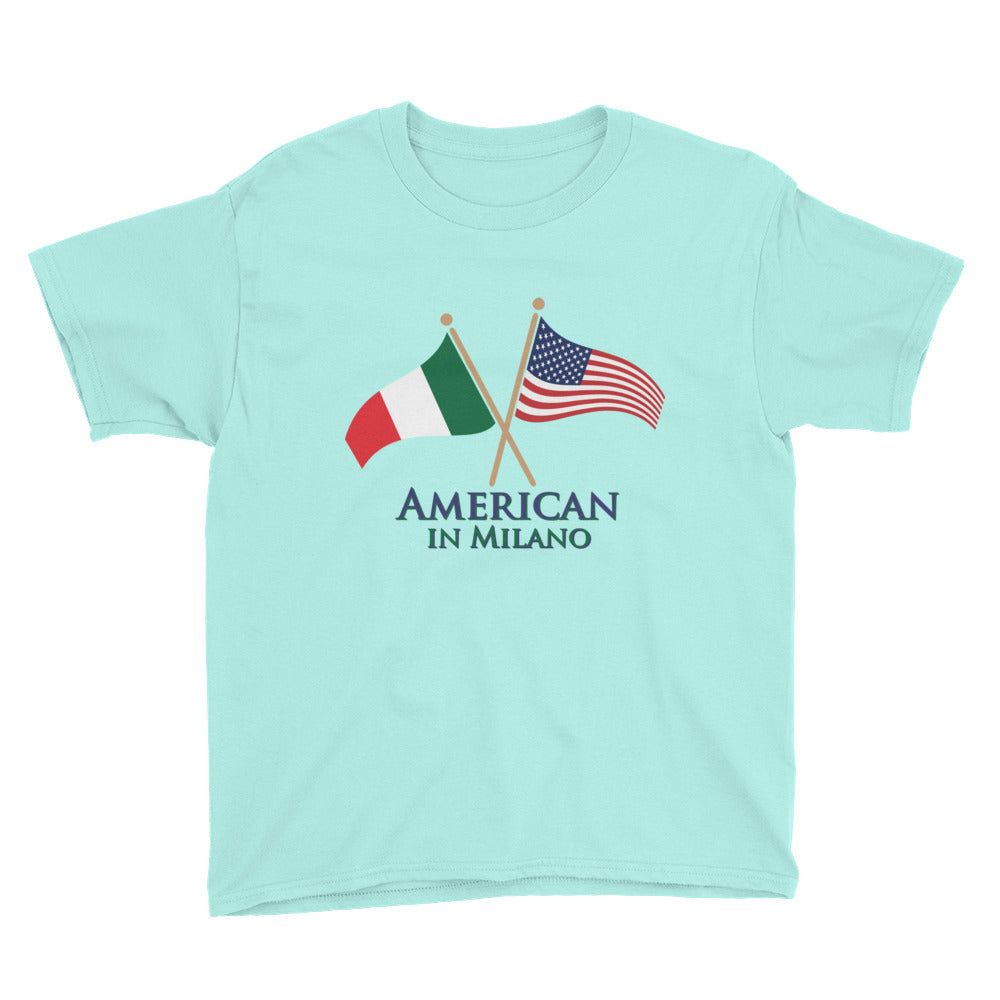 American in Milano Youth Short Sleeve T-Shirt