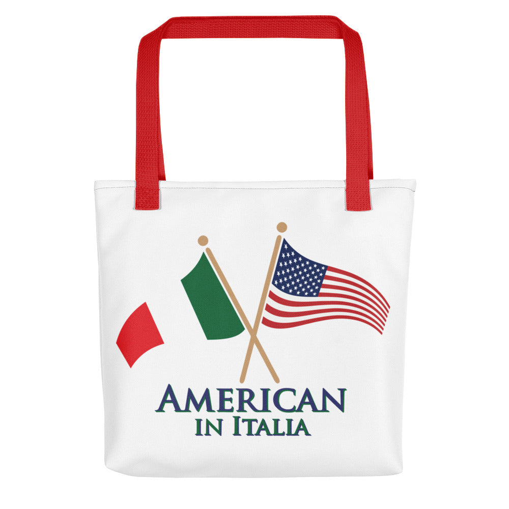 American in Italia Tote bag