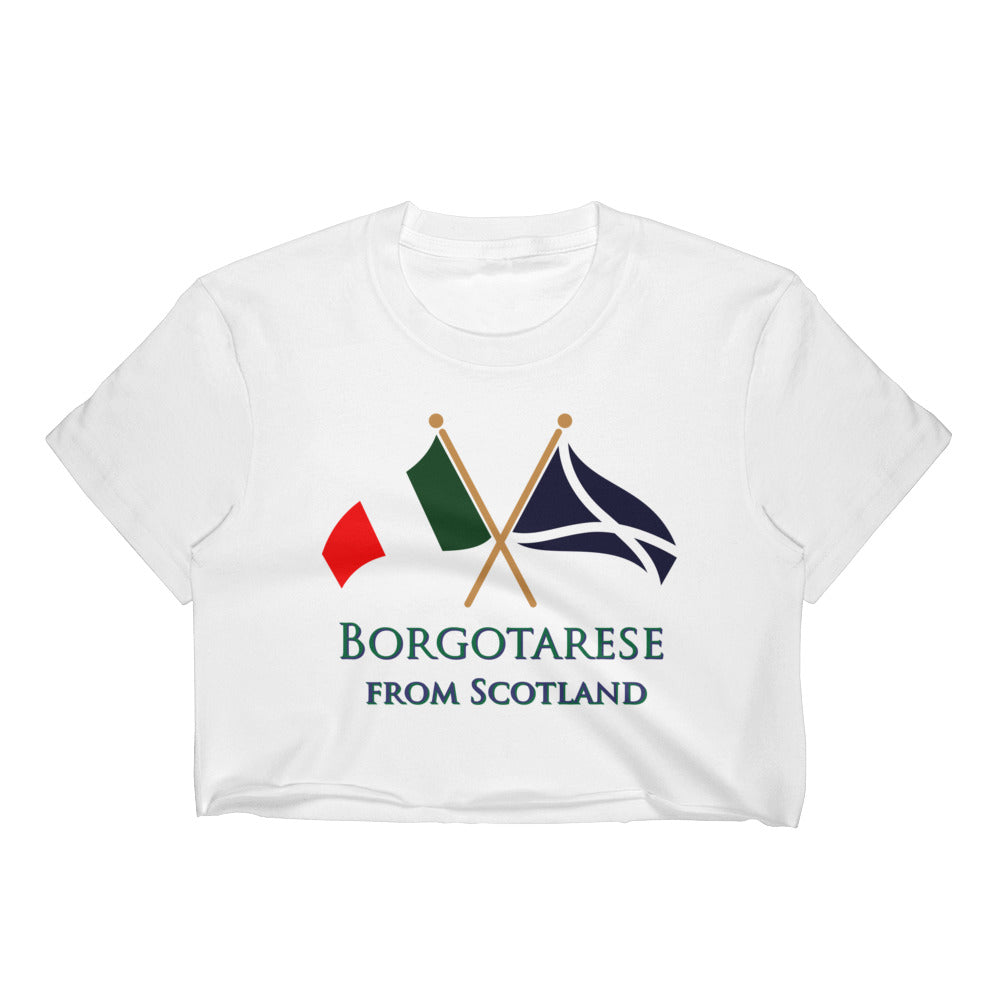 Borgotarese from Scotland Women's Crop Top T-Shirt