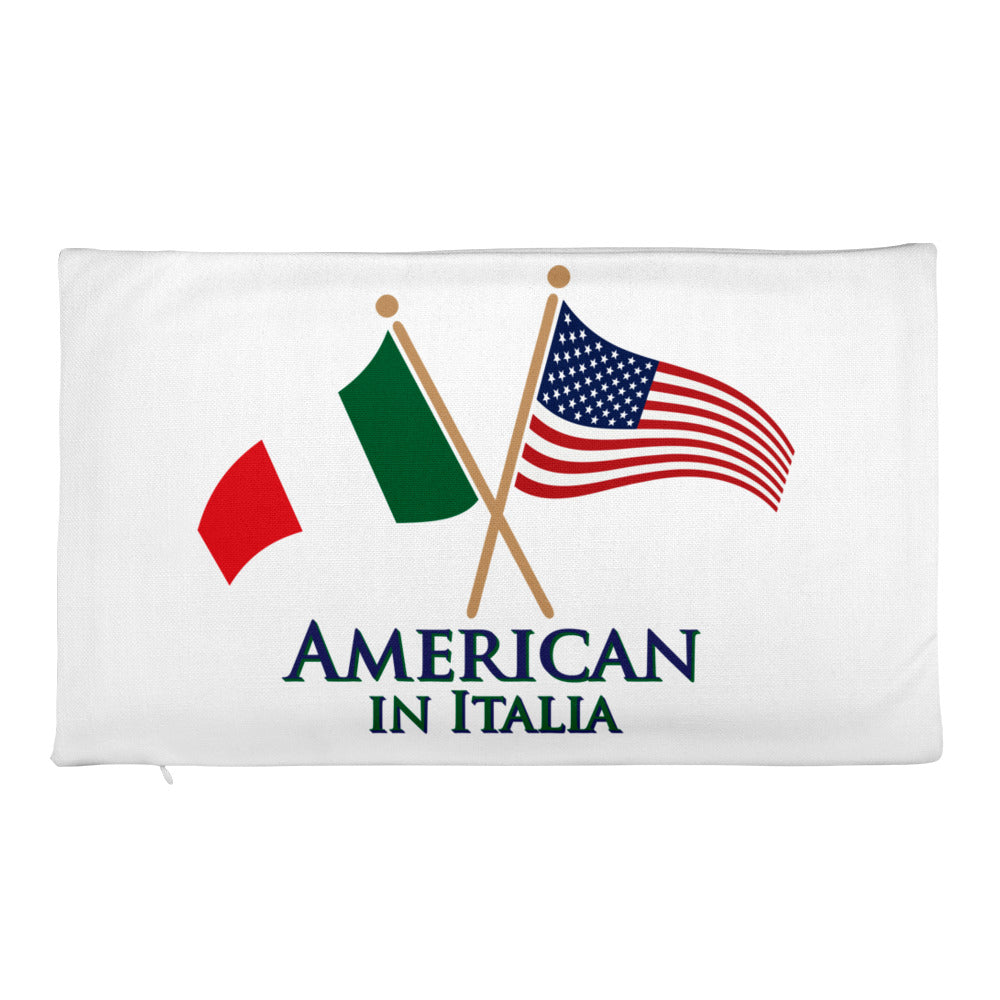 American in Italia Rectangular Pillow Case only