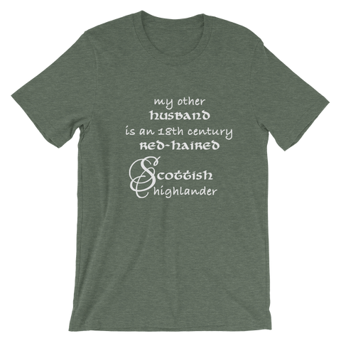 My Other Husband is a Scottish Highlander Short-Sleeve T-Shirt