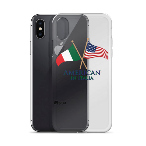 American in Italia iPhone Case