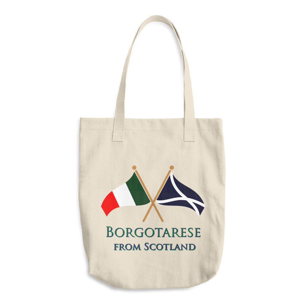 Borgotarese from Scotland Cotton Tote Bag