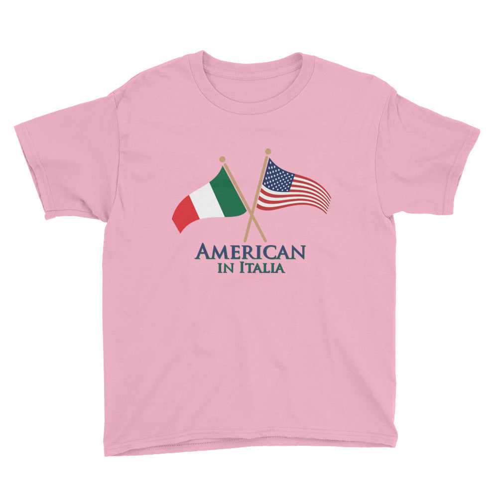 American in Italia Youth Short Sleeve T-Shirt