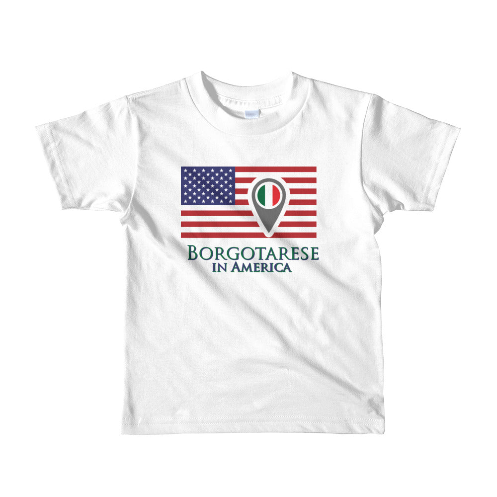 Borgotarese in America Short sleeve kids t-shirt