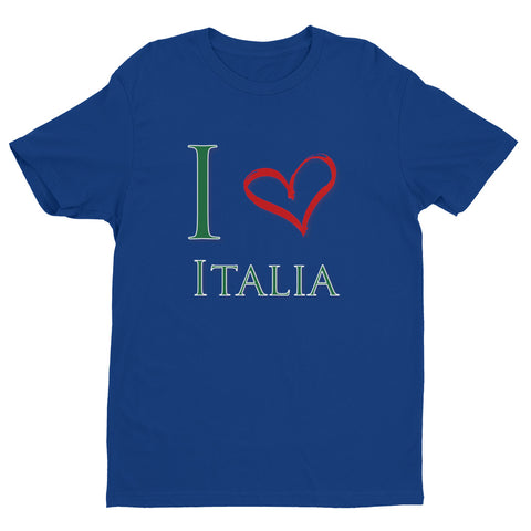 I Love Italia Unisex Short Sleeve T-shirt