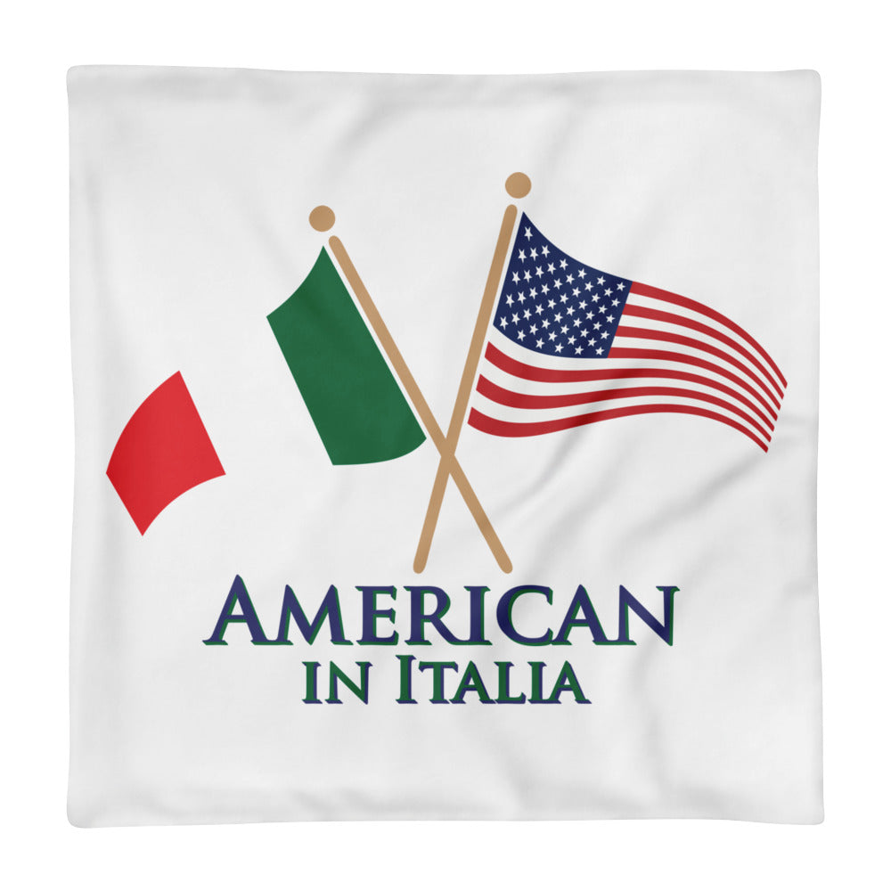 American in Italia Square Pillow Case only
