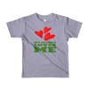 Image of My Nonno Loves Me Short sleeve kids t-shirt