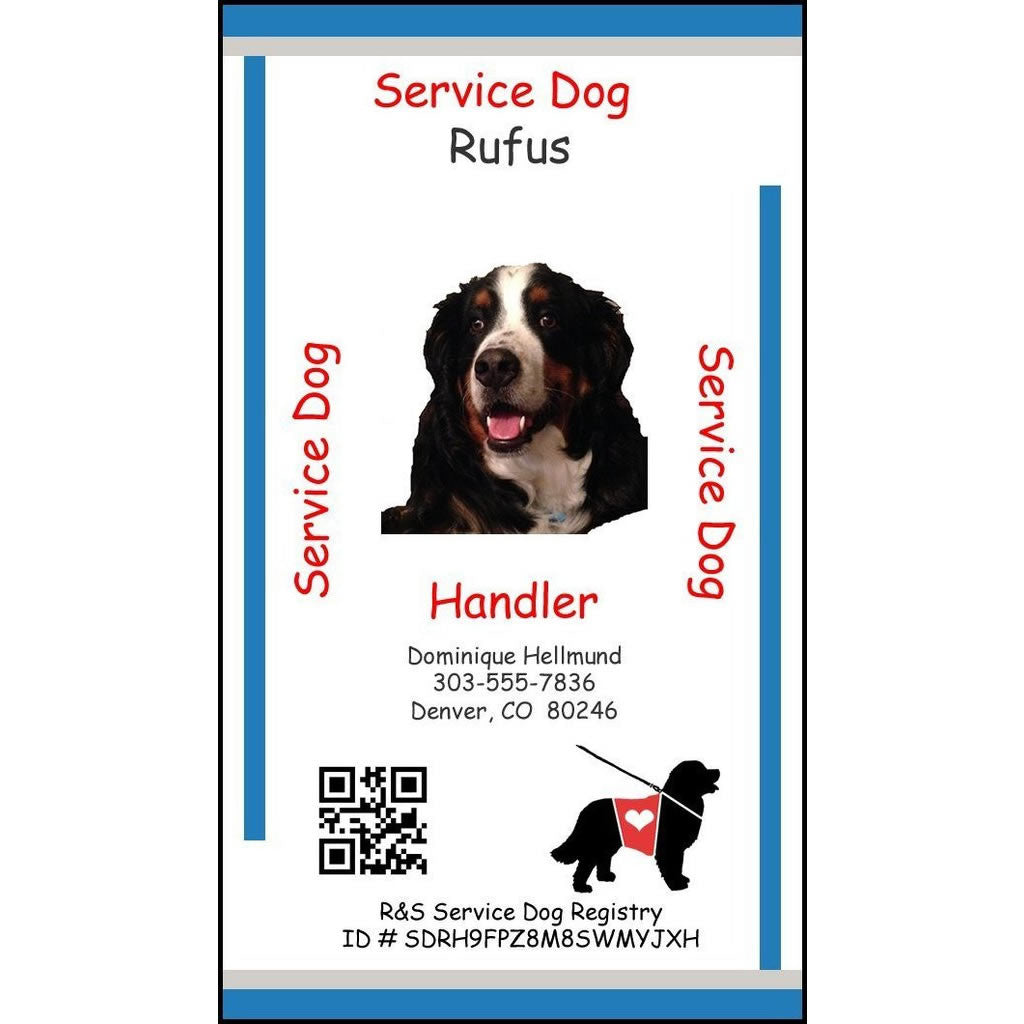 Replacement Service Animal ID