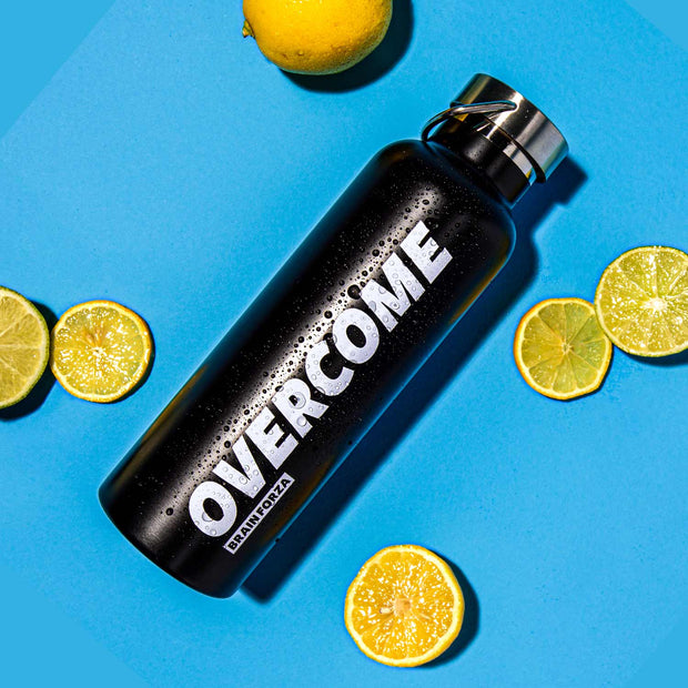 Brain Forza Overcome Stainless Steel Insulated Water Bottle 25oz