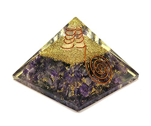 Amethyst Orgonite Pyramid - Mistico Mimi Wellness Centre & Essential Oils by Mistico Mimi