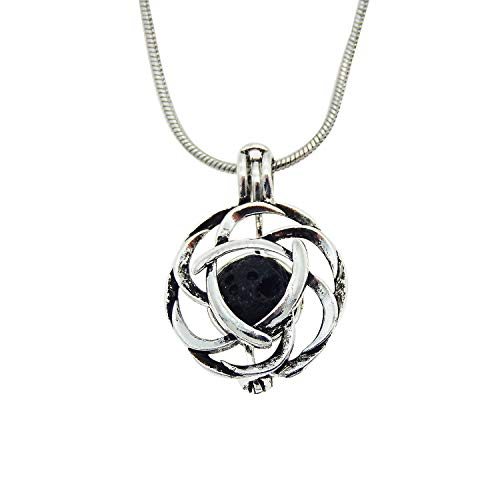 Aromatherapy Essential Oil Celtic Knot Necklace - Mistico Mimi Wellness Centre & Essential Oils by Mistico Mimi