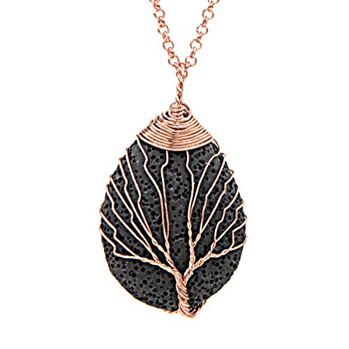 Lava Stone Essential Oil Necklace - Mistico Mimi Wellness Centre & Essential Oils by Mistico Mimi