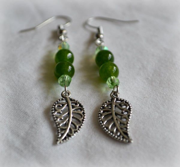 Green Aventurine Earrings - Mistico Mimi Wellness Centre & Essential Oils by Mistico Mimi