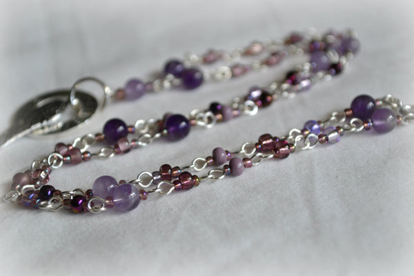 Believe Amethyst Necklace - Mistico Mimi Wellness Centre & Essential Oils by Mistico Mimi