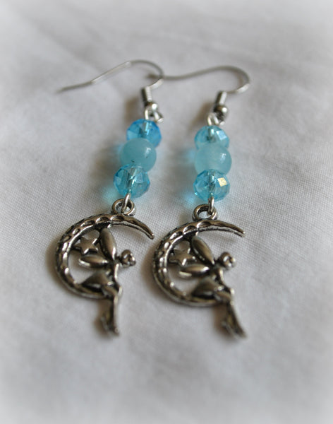 Aquamarine Fairy Earrings - Mistico Mimi Wellness Centre & Essential Oils by Mistico Mimi