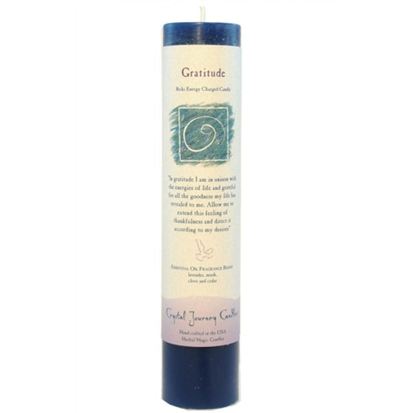 Crystal Journey Candle: Gratitude - Mistico Mimi Wellness Centre & Essential Oils by Mistico Mimi
