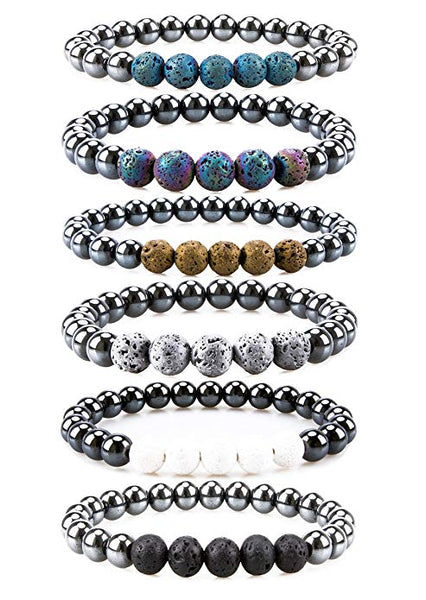 Essential Oil Hematite Bracelet - Mistico Mimi Wellness Centre & Essential Oils by Mistico Mimi