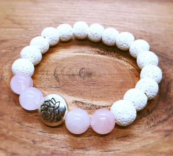 Essential Oil Lotus Bracelet - Mistico Mimi Wellness Centre & Essential Oils by Mistico Mimi