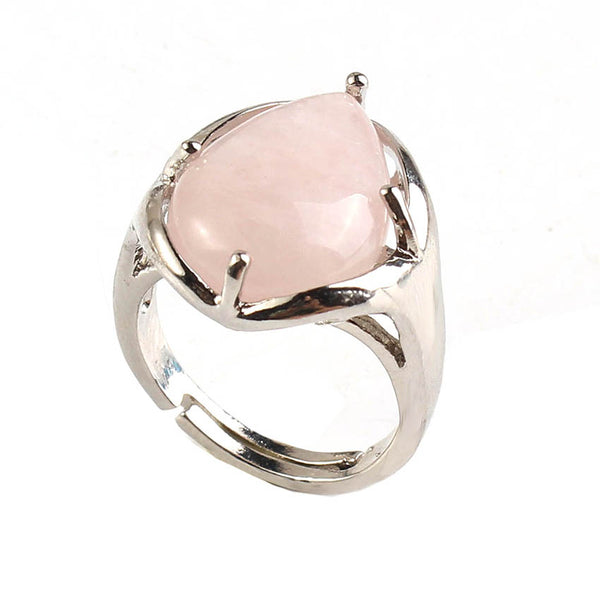 Rose Quartz Ring - Mistico Mimi Wellness Centre & Essential Oils by Mistico Mimi