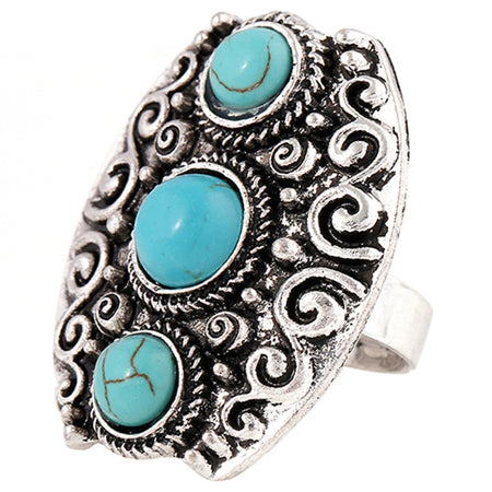 Turquoise Ring - Mistico Mimi Wellness Centre & Essential Oils by Mistico Mimi