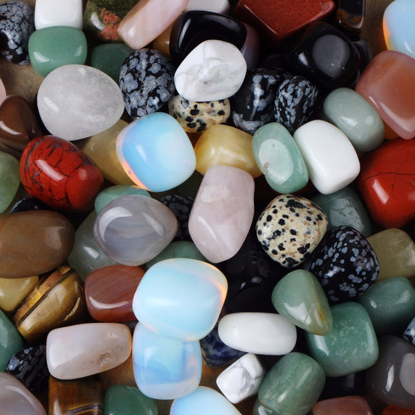 Assorted Natural Tumbled Stones