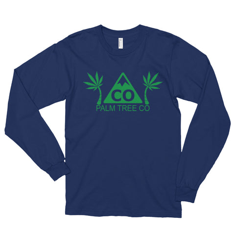 Colorado Palm Tree CO Long Sleeve Tee