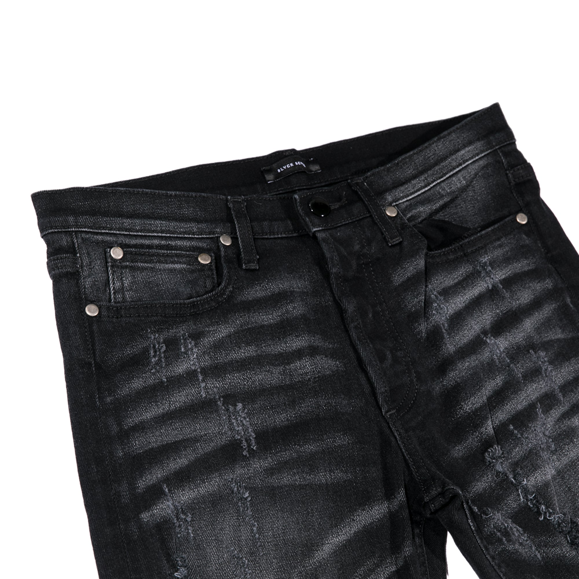 WRAITH DENIM - DESTROYED WASHED