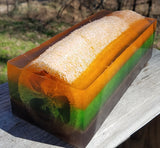 Bamboo & Grapefruit Loofah Soap Loaf
