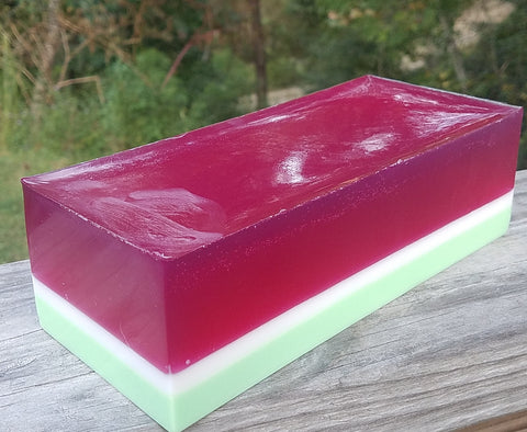 Pink Watermelon Soap Loaf