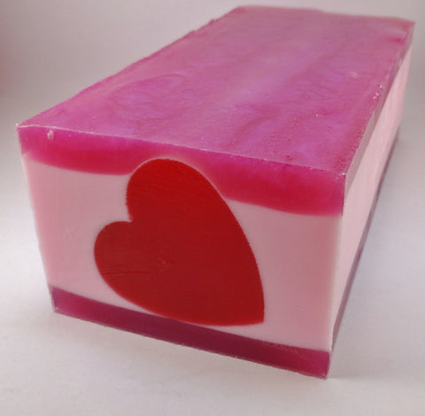 E.H. Heart Glycerin Soap