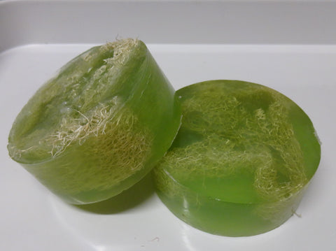 Fresh Aloe Loofah Soap Bar - 6 oz