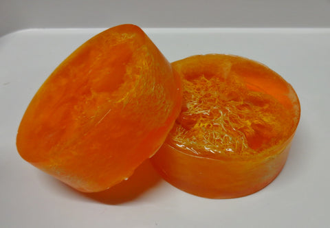 Mango Papaya Loofah Soap Bar - 6 oz