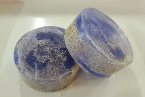 Lavender Loofah Soap Bar - 6 oz