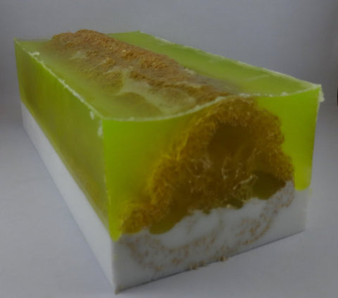 Soap Loaf - Lime Cilantro - Free Shipping